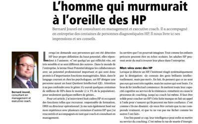 Article HR Today : HP en entreprise